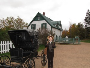Anne Of Green Gables Farm on Prince Edward Island, Canada